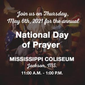 National Day of Prayer (Mississippi Coliseum) @ Mississippi Coliseum